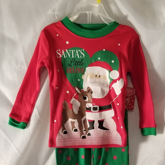 Rudolph The Red Nosed Reindeer Pajamas 12 Month 164fcf9bd